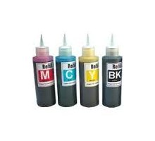 Ink Bottles Large X 4 Colours 2